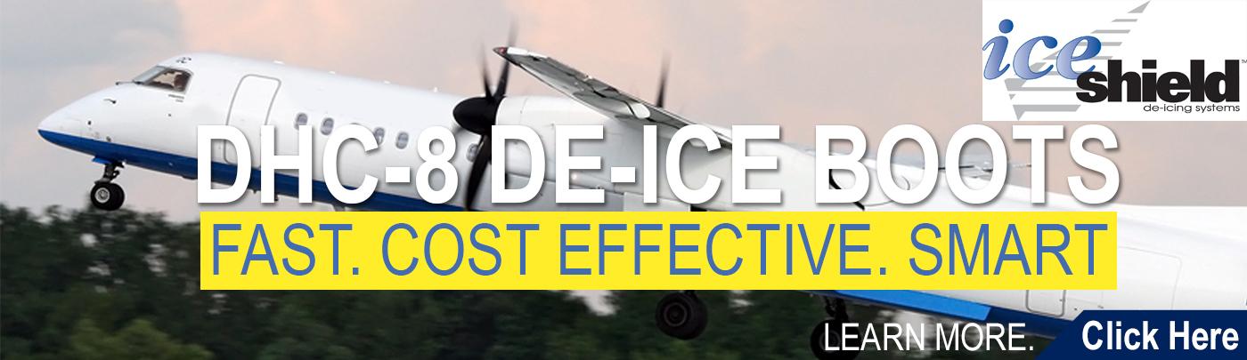 DHC-8 De-Ice Boots