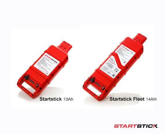 startstick 10Ah and Startstick Fleet 14AH ground power